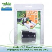 UV-C Pipe Connector - Připojovací díl z PVC 50 mm pro UV-C