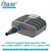 Jezírkové čerpadlo Oase Aquamax 3500, max. průtok 3600l/h, výtlak 2,2 m, příkon 45W, - Výprodej nového zboží, poškozená krabice.