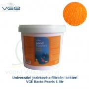 Univerzální jezírkové a filtrační bakterie - VGE Bacto Pearls 1 litr, Healthy Pond BIO BALLS Startovací bakterie na 30-100 m3