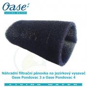 Náhradní filtrační pěnovka na jezírkový vysavač Oase Pondovac 3 a Oase Pondovac 4
