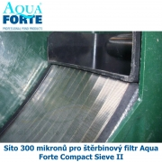 Síto 300 mikronů pro štěrbinový filtr Aqua Forte Compact Sieve II