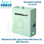 Štěrbinový filtr Midi Sieve XL Aqua Forte, 300 mikronů
