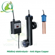 Měděný elektrolyzér - Anti Algae Copper