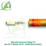 Náhradní žárovka Philips T5 pro UV-C Matala 40 W - čtyřkolíková patice