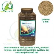 Pro-Immune 5 litrů, granule 6 mm, plovoucí krmivo, pro posílení imunitního systému koi a okrasných druhů ryb