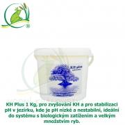 KH Plus 1 Kg, pro zvyšování KH a pro stabilizaci pH v jezírku, kde je pH nízké a nestabilní, ideální do systému s biologickým zatížením a velkým množstvím ryb