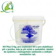 KH Plus 5 Kg, pro zvyšování KH a pro stabilizaci pH v jezírku, kde je pH nízké a nestabilní, ideální do systému s biologickým zatížením a velkým množstvím ryb