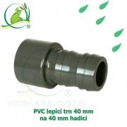 PVC lepící trn 40 mm, na 40 mm hadici
