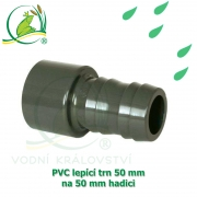 PVC lepící trn 50 mm, na 50 mm hadici