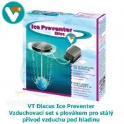 VT Discus Ice Preventer - Vzduchovací set s plovákem pro stálý přívod vzduchu pod hladinu v zimním období, výkon 150 litrů/hod.