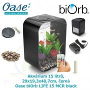 Oase biOrb LIFE 15 MCR black - Akvárium 15 litrů, 29 x 19,3 x 40,7cm, černá