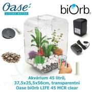 Oase biOrb LIFE 45 MCR clear - Akvárium 45 litrů, 37,5 x 25,5 x 56cm, transparentní