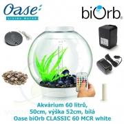 Oase biOrb CLASSIC 30 MCR white - Akvárium 30 litrů, průměr 40cm, výška 42cm, bílá