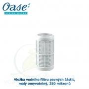 Vložka vodního filtru pevných částic malý omyvatelný, 250 mikronů