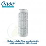 Vložka vodního filtru pevných částic velký omyvatelný, 250 mikronů