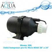 Blower 200, čistící kompresor pro K1 Micro BEAD 20 a 24 palců