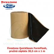 Firestone QuickSeam FormFlash, pružná záplata 30,5 cm x 1 m