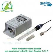 Měřič množství ozonu Sander pro ozonizační jednotky řady Sander C, S, P