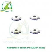 Náhradní set buněk pro KOIZO³ 4 kusy