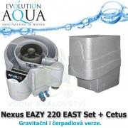Nexus EAZY 220 EAST Set + Cetus - Gravitační i čerpadlová verze