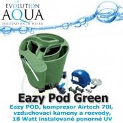 Eazy Pod Complete v zelené barvě, Eazy Pod, Airtech 70 l set a 18 Watt instalované ponorné UV, záruka až 60 měsíců*, garance až 90 dnů**