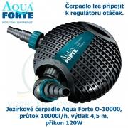 Jezírkové čerpadlo Aqua Forte O-series O 10000, průtok 10000l/h, výtlak 4,5 m, příkon 120W