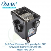 ProfiClear Premium TF-L gravity-fed EGC - Gravitační bubnový (Drum) filtr, model 2017