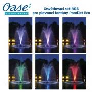 Osvětlovací set RGB pro plovoucí fontány PondJet Eco