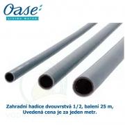 """Zahradní hadice 12 Bar (32 Bar), balení 25 m 1/2"""", 13 mm, Uvedená cena je za jeden metr."""