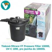 Tlaková filtrace VT Pressure Filter 10000, UV-C 18W, pro jezírka do 10000L