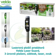 Laserový plašič predátorů Velda Laser Guard, 3 úrovně plašení, záblesk, laser, zvuk