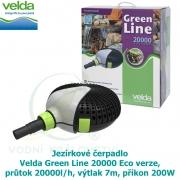 Jezírkové čerpadlo Velda Green Line 20000 Eco verze, průtok 20000l/h, výtlak 7m, příkon 200W