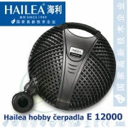 Jezírkové čerpadlo Hailea E 12000, 135 Watt, 10850 l/hod., max  3,4 m