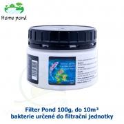 Filter Pond 100g, do 10m³ - bakterie určené do filtrační jednotky