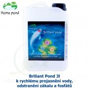 Brilliant Pond 3l - k rychlému projasnění vody, odstranění zákalu a fosfátů na 50-100m3