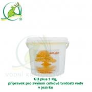 GH plus 1 Kg, přípravek pro zvýšení celkové tvrdosti vody v jezírku