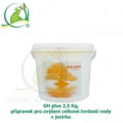 GH plus 2,5 Kg, přípravek pro zvýšení celkové tvrdosti vody v jezírku