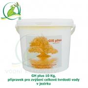 GH plus 10 Kg, přípravek pro zvýšení celkové tvrdosti vody v jezírku
