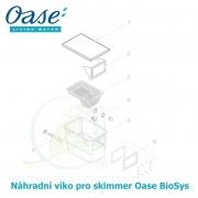 Náhradní víko pro skimmer Oase BioSys