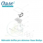 Náhradní vnitřní dvířka s plovákem pro skimmer Oase Biosys