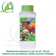 Maintenance Bacterials 1 litr na 10-50 m3 - bakterie pro pravidelnou údržbu jezírek a biotopů
