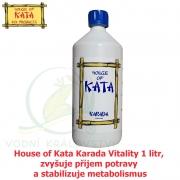 House of Kata Karada Vitality1 litr, zvyšuje příjem potravy a stabilizuje metabolismus
