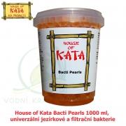 House of Kata Bacti Pearls 1000 ml, univerzální jezírkové a filtrační bakterie