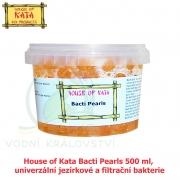 House of Kata Bacti Pearls 500 ml na 15-50 m3, univerzální jezírkové a filtrační bakterie