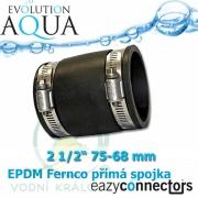 EA EPDM spojka 2 1/2, (75 až 68 mm)