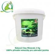 Natural Clay Minerals 2Kg - 100% přírodní minerály pro zahradní jezírka