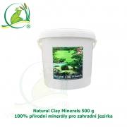 Natural Clay Minerals 500g - 100% přírodní minerály pro zahradní jezírka