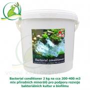Bacterial conditioner 2 kg na cca 200-400 m3, minerály pro tvorbu optimálního biofilmu a dočištění dna zahradního jezírka