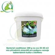 Bacterial conditioner 200 g na cca 20-40 m3, minerály pro tvorbu optimálního biofilmu a dočištění dna zahradního jezírka