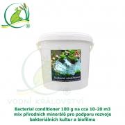 Bacterial conditioner 100 g na cca 10-20 m3, minerály pro tvorbu optimálního biofilmu a dočištění dna zahradního jezírka